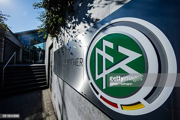 A general view of DFB Headquarter on August 18 2016 in Frankfurt am Main Germany