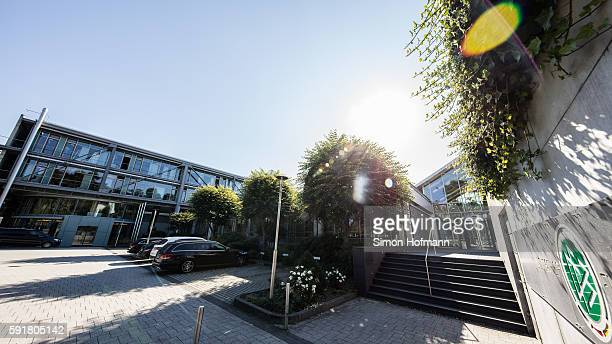 General view of DFB Headquarter on August 18, 2016 in Frankfurt am Main, Germany.