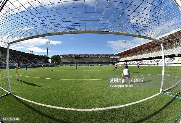 General view of Dino Manuzzi Stadium prior the Lega Pro U17 Final between AC Pisa and AC Pavia at Dino Manuzzi Stadium on June 20 2016 in Cesena Italy