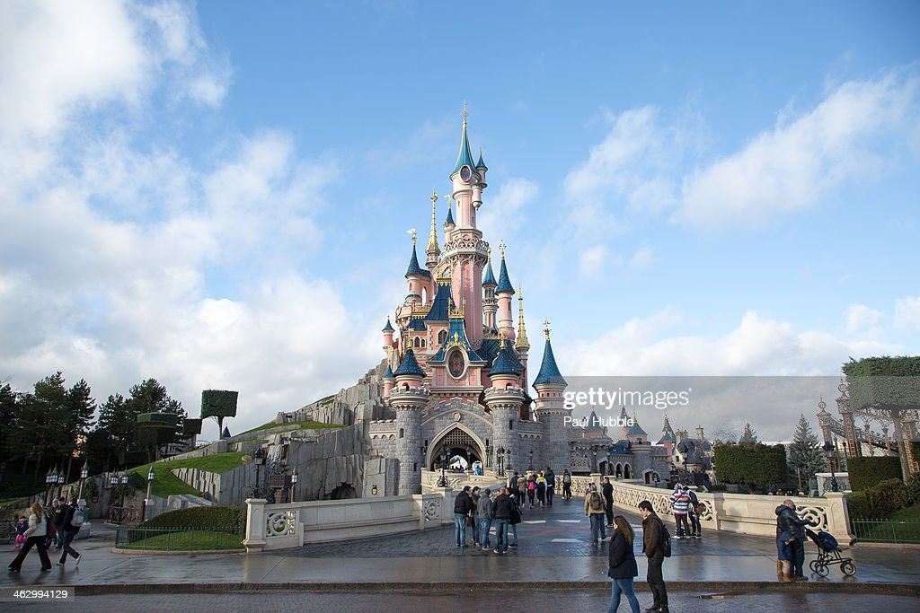 A General View Of Disneyland Paris On January 16 2014 In