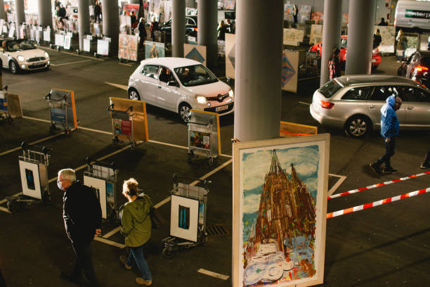 DEU: Drive In Gallery Show Opens At Cologne
