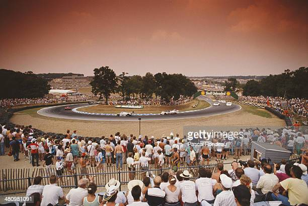 General view of Druids Hill Bend during the FIA World Sportscar Prototype Championship 1000 kms of Brands Hatch on 23rd July 1989 at Brands Hatch...
