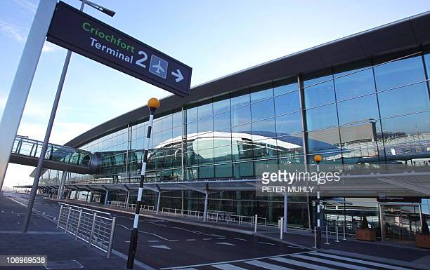 A general view of Dublin airport's new Terminal 2 in Dublin Ireland on November 19 2010 AFP PHOTO/Peter Muhly
