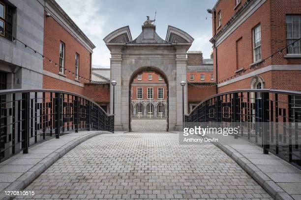 General view of Dublin Castle on August 04, 2020 in Dublin, Ireland.