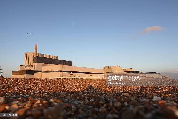 A general view of Dungeness Nuclear Power Station on November 17 2009 in Dungeness United Kingdom As world leaders prepare to gather for the...