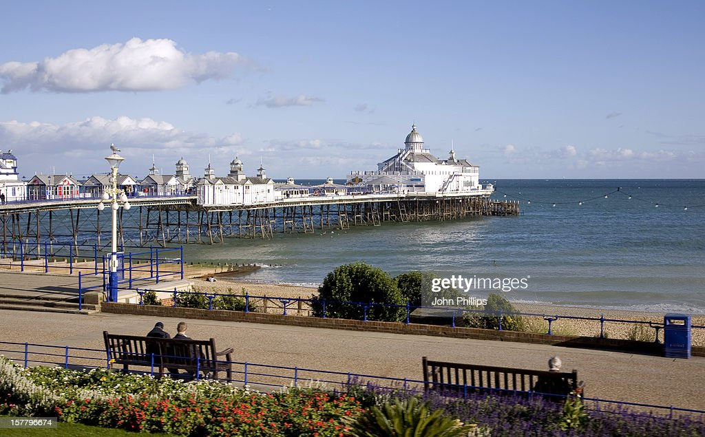 A General View Of Eastbourne Pier, Eastbourne, East Sussex.