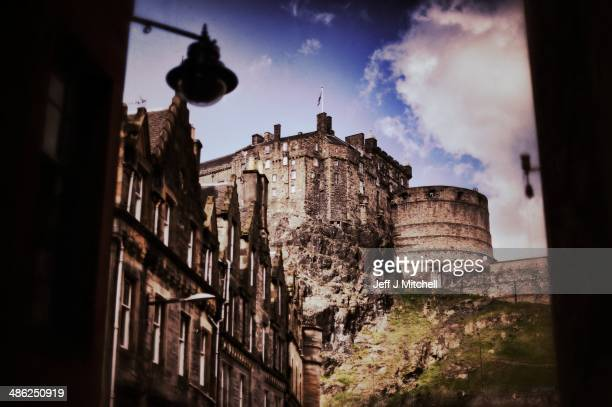 A general view of Edinburgh Castle on April 23 2014 in Edinburgh Scotland A referendum on whether Scotland should be an independent country will take...