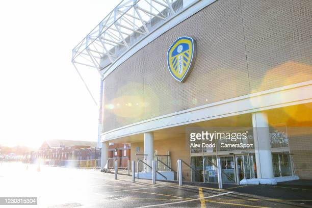 General view of Elland Road, home of Leeds United during the Premier League match between Leeds United and Burnley at Elland Road on December 27,...