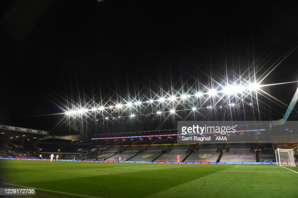 General view of Elland Road, home stadium of Leeds United during the Premier League match between Leeds United and Wolverhampton Wanderers at Elland...