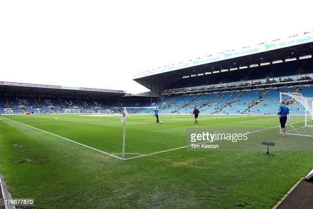 A general view of Elland Road Stadium during the Sky Bet Championship match between Leeds United and Sheffield Wednesday at Elland Road on August 17...