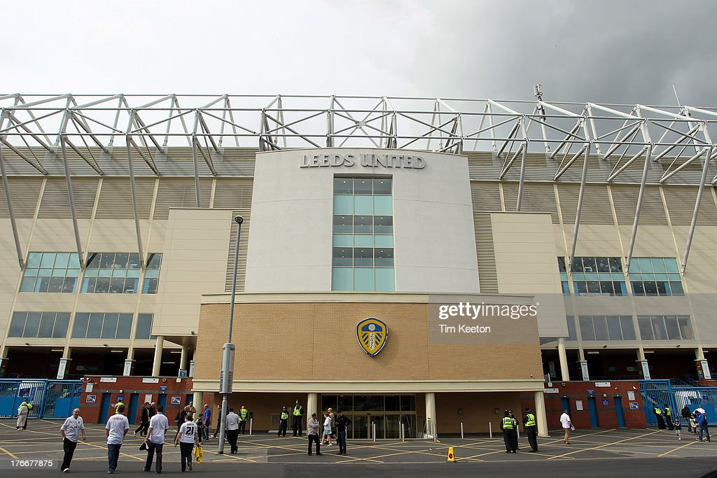 A general view of Elland Road Stadium, during the Sky Bet Championship match between Leeds United and Sheffield Wednesday at Elland Road on August 17, 2013 in Leeds, England,