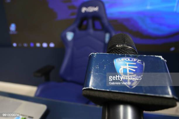 General view of Empoli FC during the first press conference of the 2018/2019 season on July 4 2018 in Empoli Italy