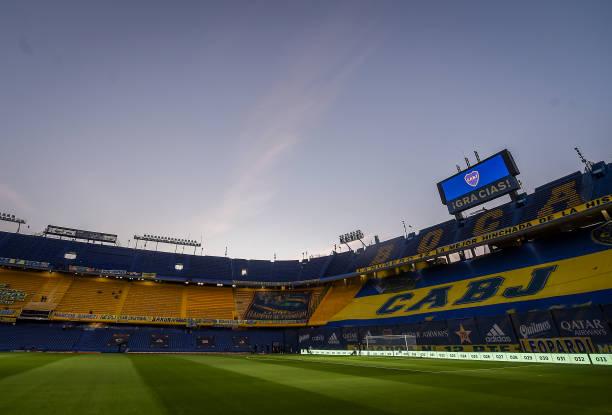 ARG: Boca Juniors v Colon - Torneo Liga Profesional 2021