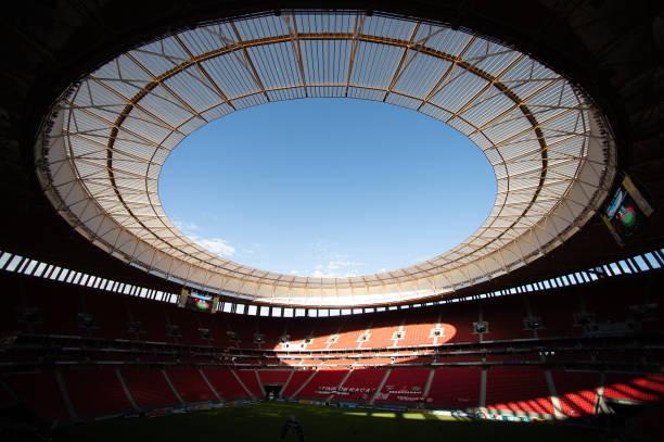 BRA: 2020 Brasileirao Series A: Flamengo v Palmeiras Play Behind Closed Doors Amidst the Coronavirus (COVID-19) Pandemic