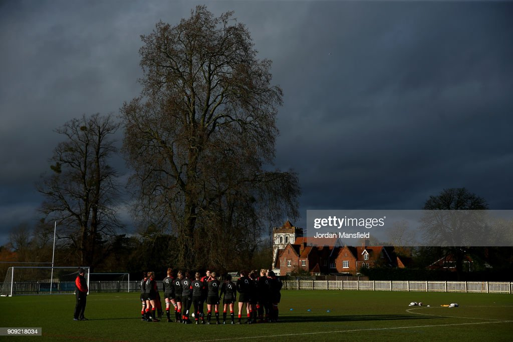 England Women Training