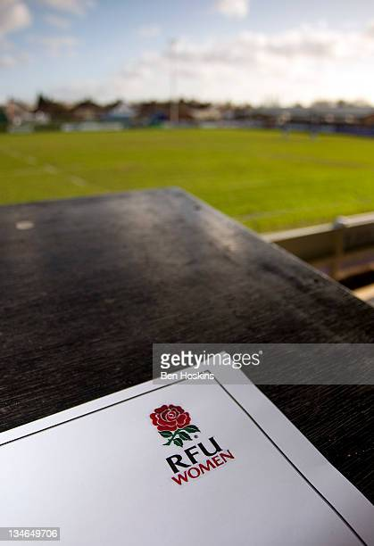 General view of Esher rugby club prior to the Autumn Internationals Series match between England Women and New Zealand Women at Esher Rugby Club on...
