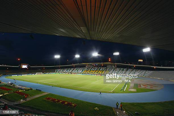 General view of Estadio Centenario before the FIFA U20 World Cup 2011 Group D match between Croatia and Guatemala on August 6 2011 in Armenia Colombia