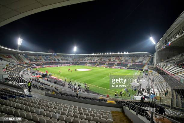 General view of Estadio D Afonso Henriques during the UEFA Nations League A Group 3 match between Portugal and Poland at Estadio D Afonso Henriques...