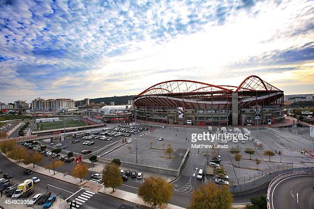 A general view of Estadio da Luz on December 10 2011 in Lisbon Prague