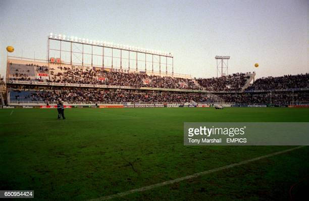 General view of Estadio La Rosaleda home of Malaga