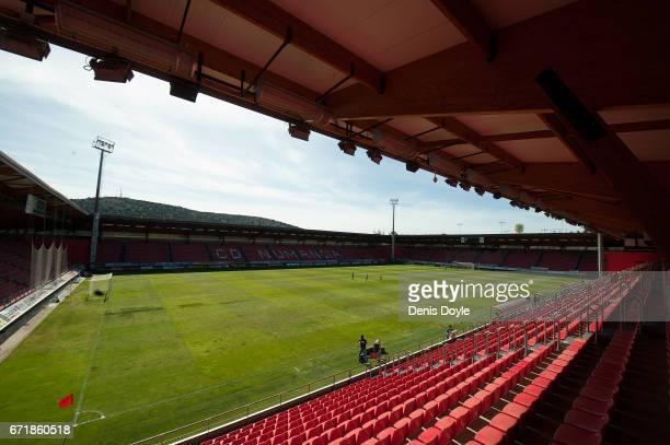 General view of Estadio Los Pajaritos ahead of the Segunda Division match between CD Numancia and CD Tenerife at Estadio Los Pajaritos on April 23,...