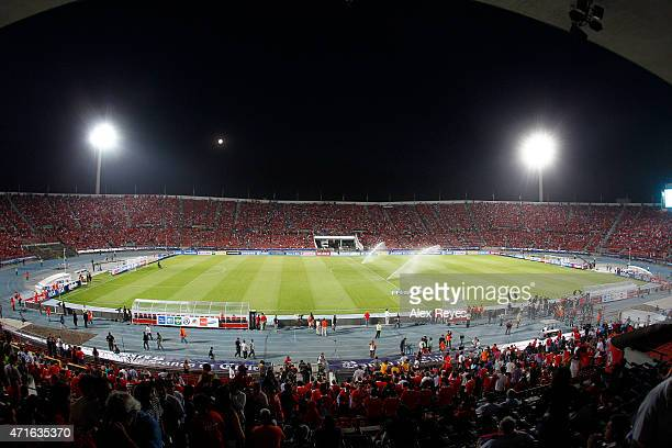 General view of Estadio Nacional Julio Martinez Pradanos during a match between Chile and Uruguay on May 26 2013 in Santiago Chile