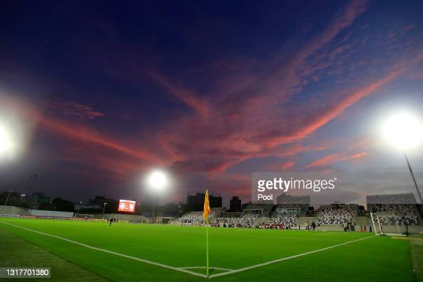 General view of Estadio Olímpico Romelio Martínez before a match between Junior and River Plate as part of group D of Copa CONMEBOL Libertadores 2021...