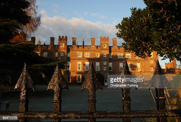 A general view of Eton College bathed in evening light on November 15 2007 in Eton England An icon amongst private schools since its founding in 1440...