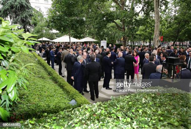 General view of Europa Press news agency 60th Anniversary at the Villa Magna hotel on May 30 2017 in Madrid Spain