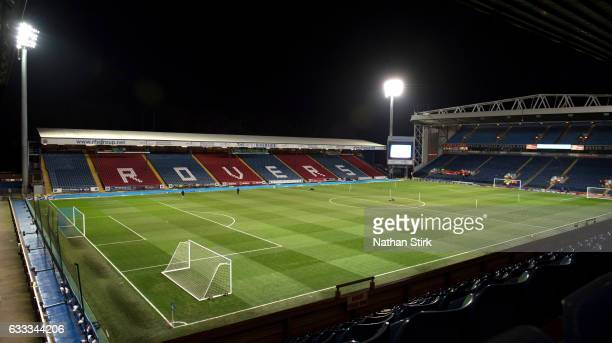 General view of Ewood Park before the Sky Bet Championship match between Blackburn Rovers and Leeds United at on February 1 2017 in Blackburn England