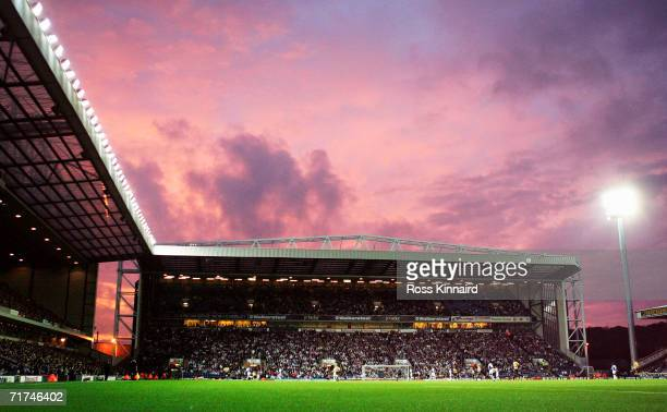 A general view of Ewood Park during the Barclays Premiership match between Blackburn Rovers and Everton at Ewood Park on August 23 2006 in Blackburn...