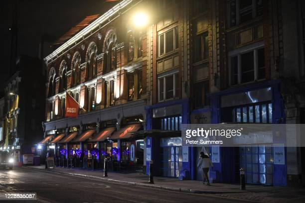 General view of Fabric nightclub on October 1, 2020 in London, England. Nightclubs are fighting to stay open following the coronavirus pandemic and...