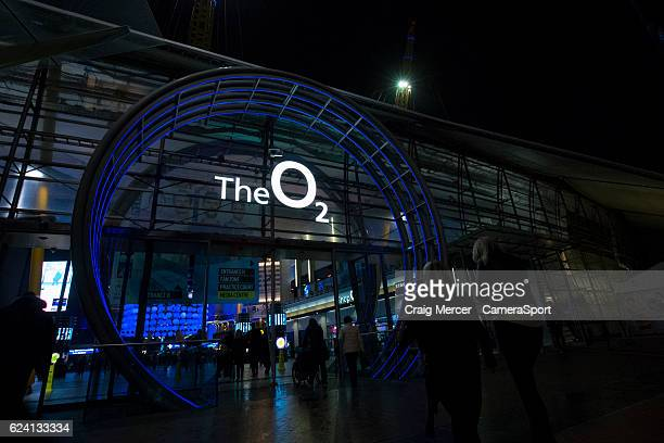 A general view of fans arriving at the O2 Arena on day five of the ATP World Tour Finals at O2 Arena on November 17 2016 in London England