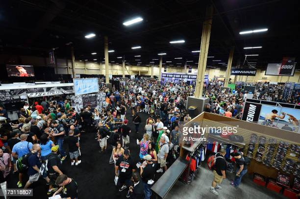 General view of fans in attendance during the UFC Fan Expo Las Vegas 2013 at the Mandalay Bay Convention Center on July 6, 2013 in Las Vegas, Nevada.