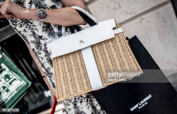 General view of fashion detail during the 70th annual Cannes Film Festival at on May 23 2017 in Cannes France