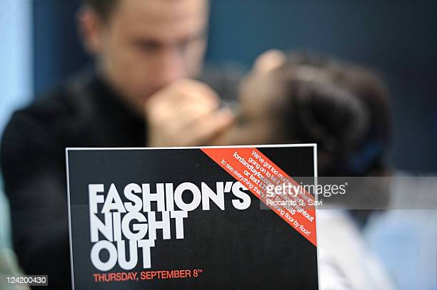 General view of Fashion Night Out at Lord Taylor on September 8 2011 in New York City