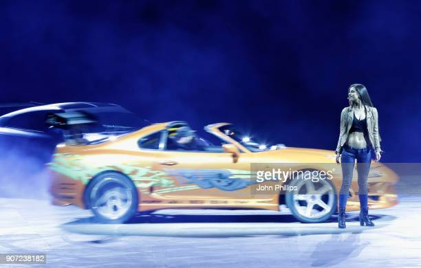 A general view of Fast and Furious Live at the O2 Arena on January 19 2018 in London England