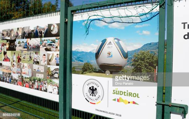 General view of FC Sudtirol Training Camp on October 9 2017 in Appiano sulla Strada del Vino Italy Eppan An Der Weinstrasse will host Germany...
