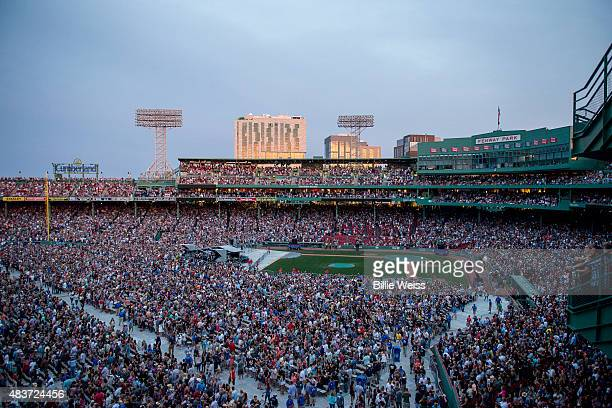 A general view of Fenway Park during the Zac Brown Band performance during the Major League Baseball Ballpark Concert Series during the JEKYLL HYDE...