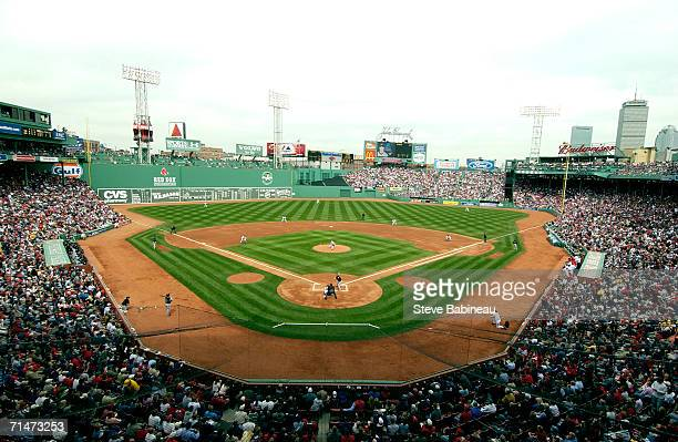 General view of Fenway Park in Boston, Massachusetts on March 23, 2006.