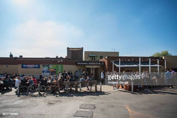 General view of festival goers at Brudenell Social Club during Live At Leeds on May 5 2018 in Leeds England At Leeds