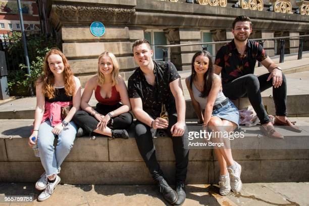 General view of festival goers at Millennium Square during Live At Leeds on May 5 2018 in Leeds England At Leeds