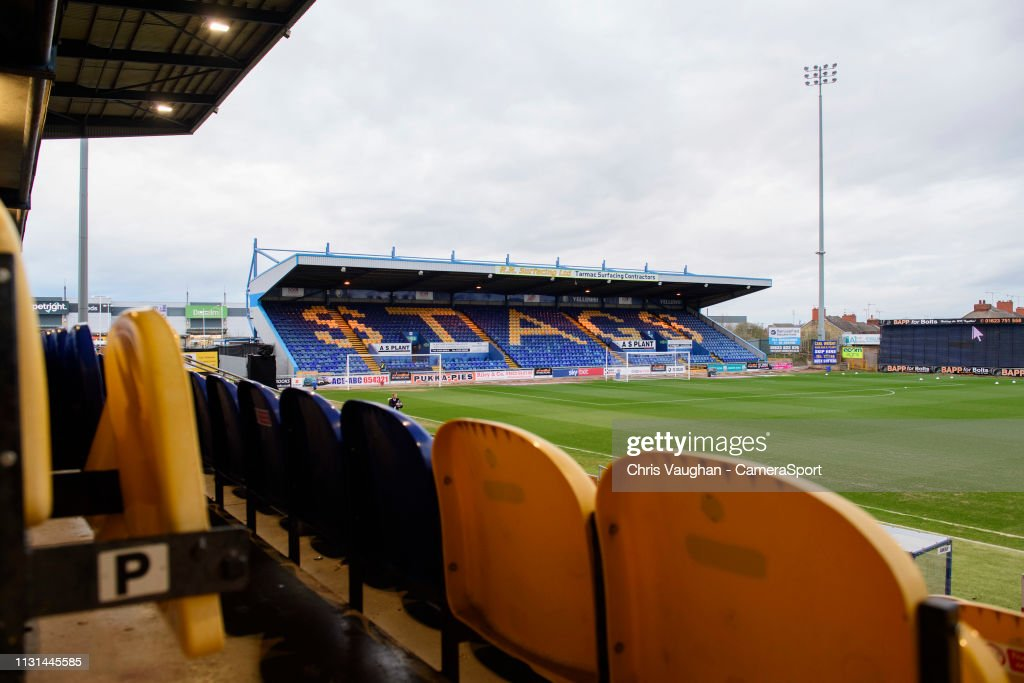 GBR: Mansfield Town v Lincoln City - Sky Bet League Two