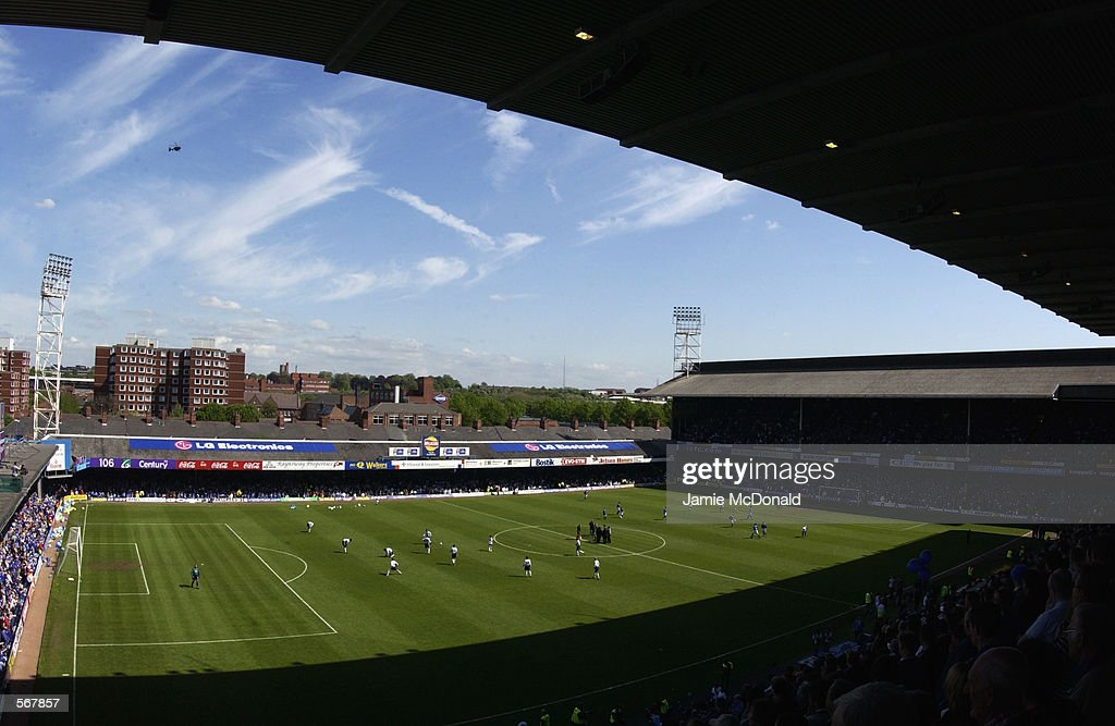 The last game at Filbert Street : News Photo