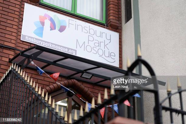 A general view of Finsbury Park mosque on Visit Your Mosque Day on March 03 2019 in London England A man was killed near the mosque during an attack...