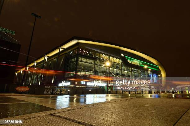 A general view of Fiserv Forum prior to a game between the Milwaukee Bucks and the New York Knicks on December 27 2018 in Milwaukee Wisconsin NOTE TO...
