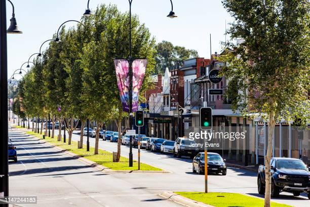 General view of Fitzmaurice Street on May 05, 2019 in Wagga Wagga, Australia. Wagga Wagga is a major regional city in the Riverina region of New...