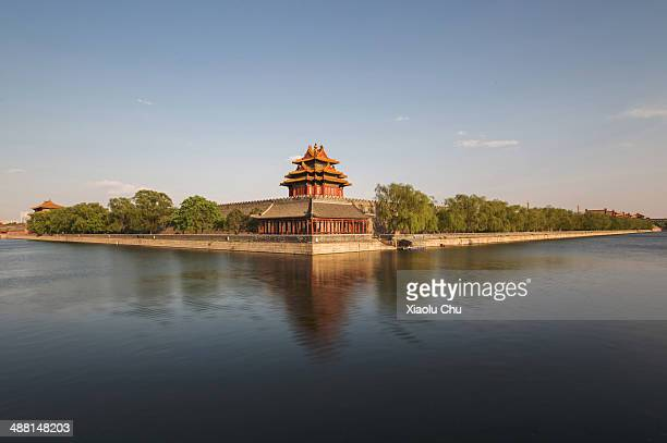 A general view of Forbidden City's moat on May 4 2014 in Beijing China According to reports based on comparisons using Purchasing Power Parity China...