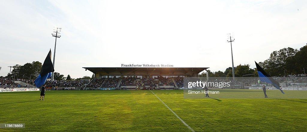FSV Frankfurt v SpVgg Greuther Fuerth - Second Bundesliga : News Photo