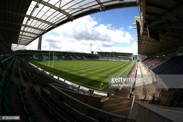 A general view of Franklin's Gardens prior to the Aviva A League Final between Northampton Wanderers and Gloucester United at Franklin's Gardens on...